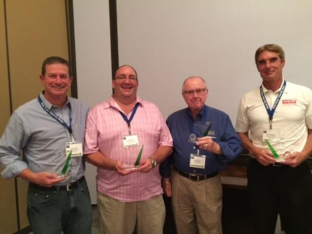 1st Place Team - DeLancey Davis, J.J. Troccoli, Bill Mills, Don Wesdell