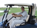 Golf Official Richard Mest takes to the coarse