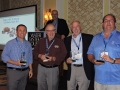 Second place golf team Dan Story, Bill Mills, Gerry Duggan,. and J J Troccoli