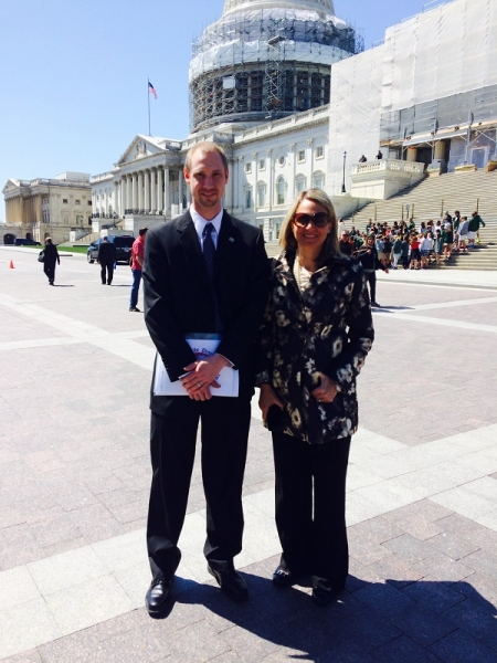 l-to-r-Chirs-Preston-and-Susan-OGrady-of-Xylem-Inc.-Hit-the-Hill