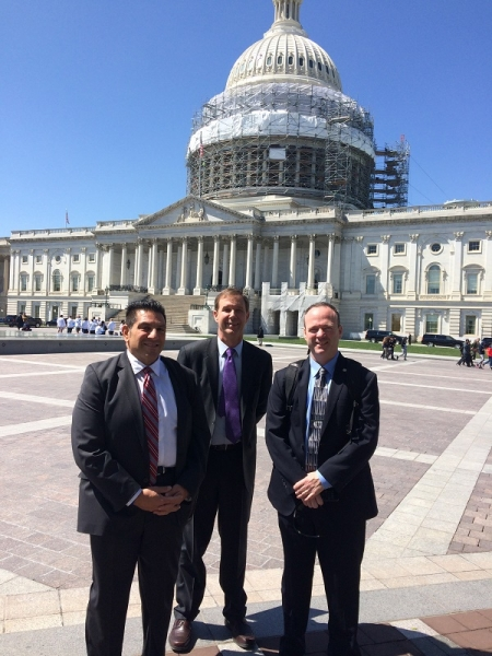 l-to-r-Mark-Capriotti-Blake-Equipment-Jeff-Smith-Smith-Well-Drilling-and-Pat-OHanlon-Blake-Equiment-on-Captiol-Hill