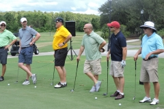 Golfers line up for Magic Ball