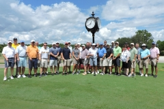 WSC Members gather for the WWT golf tournament