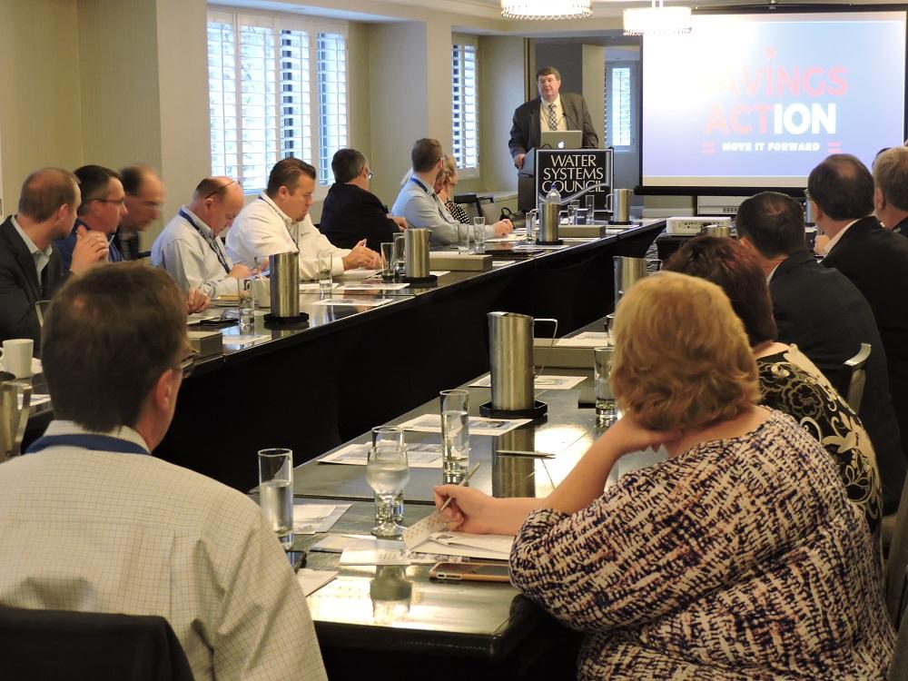 EPA's Lee Forsgren addresses WSC members 2