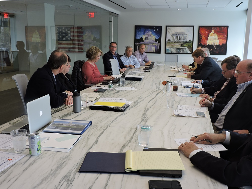 WSC BOard of Directors hold meeting at Alpine Group
