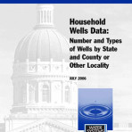Special Report No. 5 – Household Wells Data: Number and Types of Wells by State and County or Other Locality